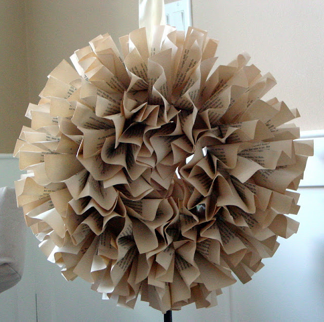 Book page wreaths - Rachel Teodoro