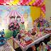 Festa Circo Rosa com decoração criativa!