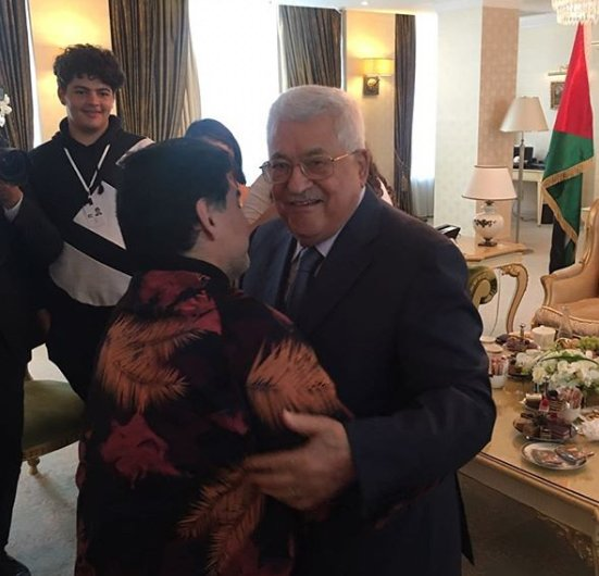 VIDEO: Legenda Sepak Bola Argentina, Diego Maradona: Hatiku Palestina