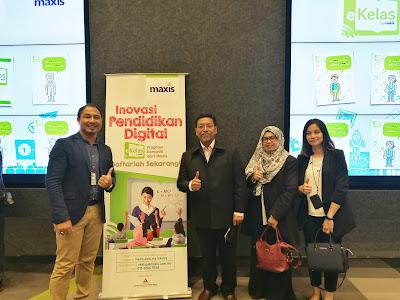 Maxis eKelas : Pendidikan Digital Luar Waktu Sekolah
