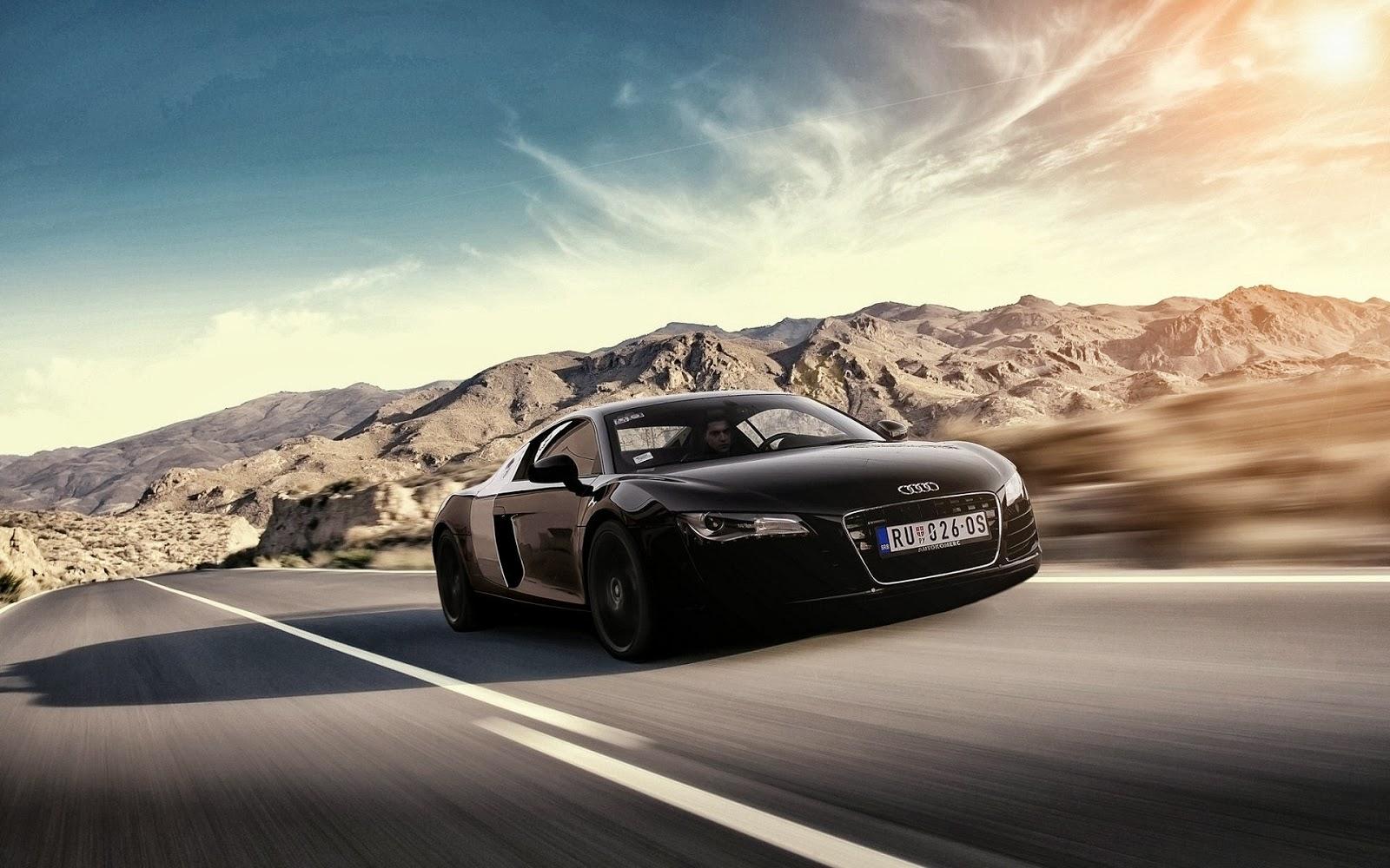 Fondos De Pantalla Coches: Fondo De Pantalla Coche Audi Negro