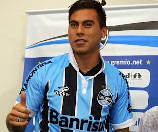 Jornal italiano garante que Eduardo Vargas fica no Grêmio até o final do  ano Segundo o Il Mattino a42c33a4c56f7