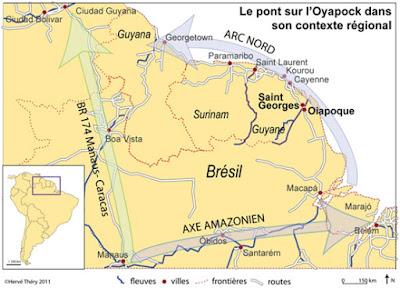 Oyapock: un puente geopolítico