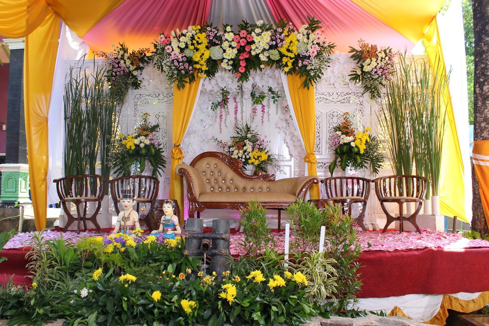 dekorasi pengantin semarang salatiga