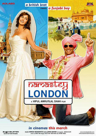 Namastey London 2007 DVDRip 400MB Hindi Movie 480p Watch online Free Download bolly4u