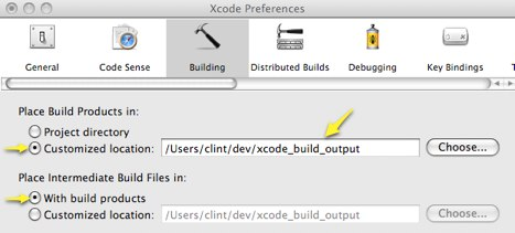 Removing Xcode 3 shared build settings from Xcode 4