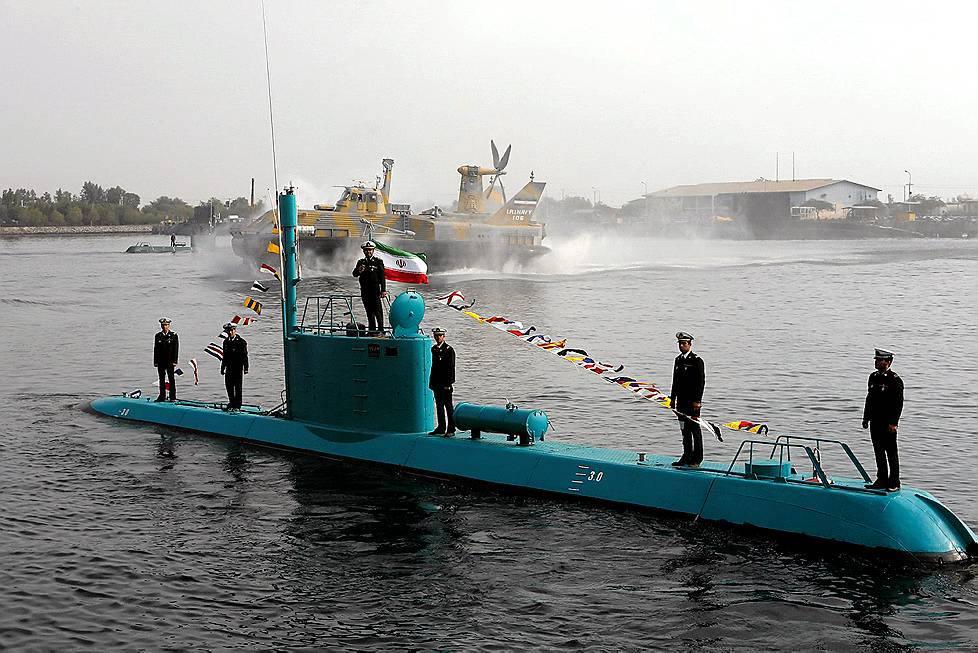 Підводний човен класу «Ghadir» ВМС Ірану