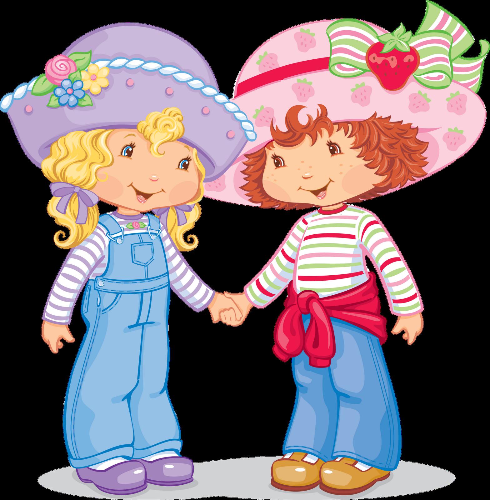 Cartoon Characters: Strawberry Shortcake
