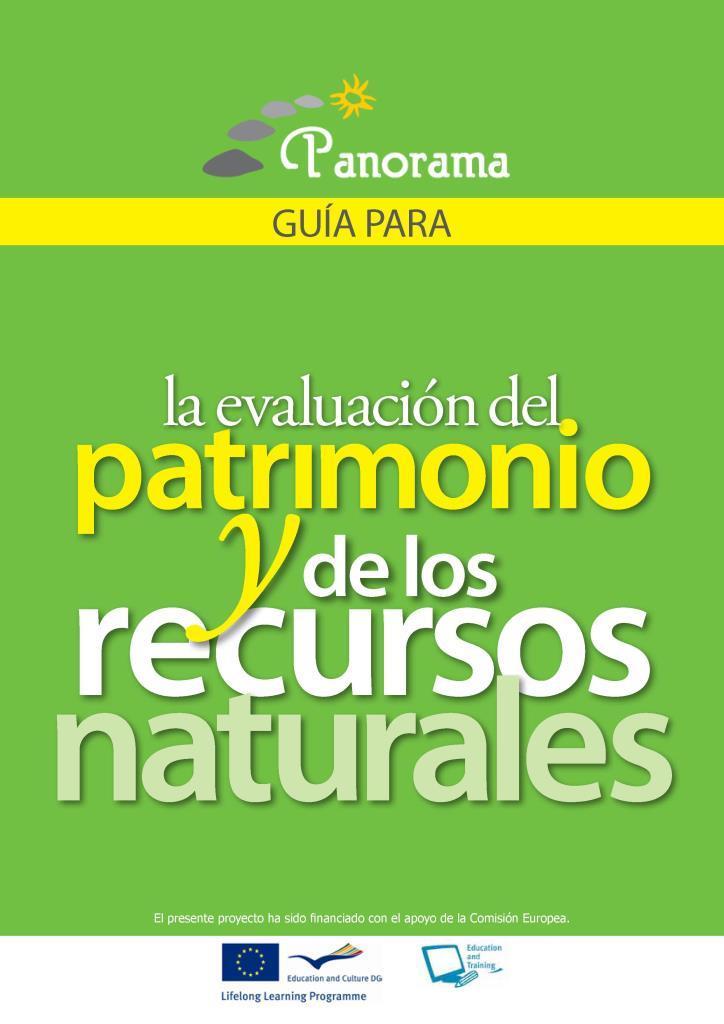 Guía para la evaluación del patrimonio y de los recursos naturales