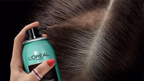 Tinte para cabello en spray loreal