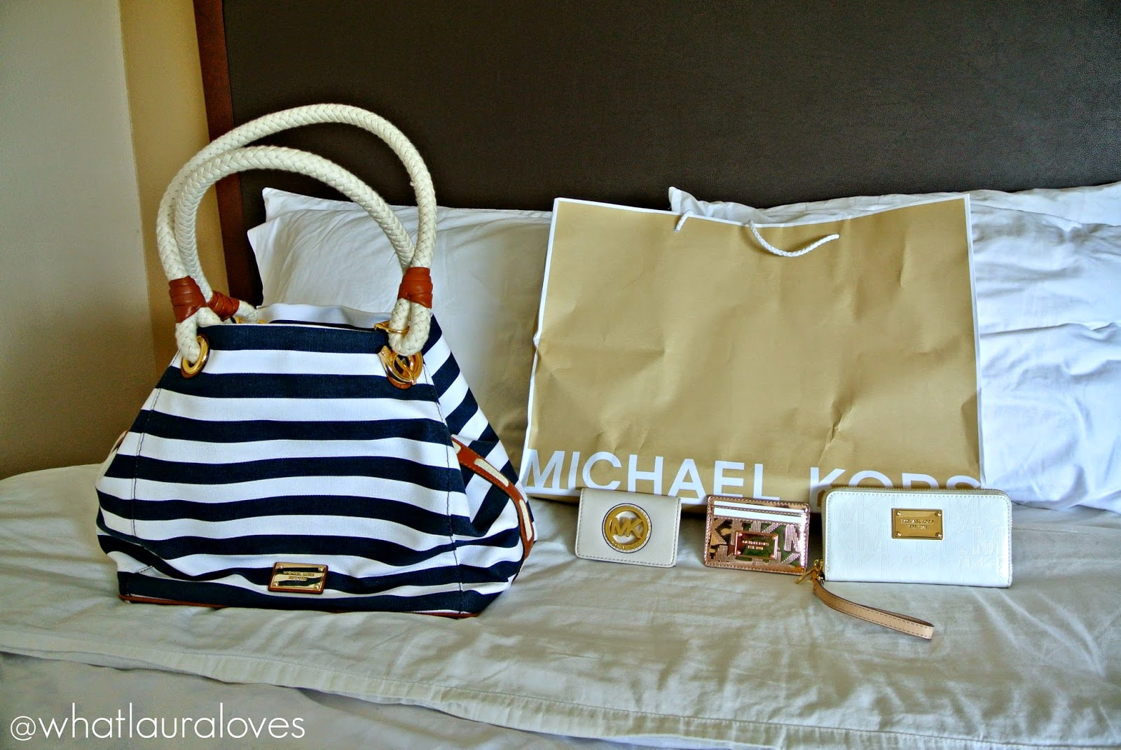 f29d53e6918d Michael Kors Honeymoon Haul - What Laura Loves