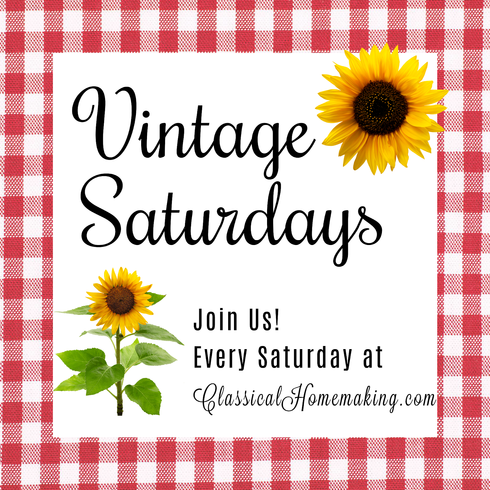 Join Us For Vintage Saturdays!