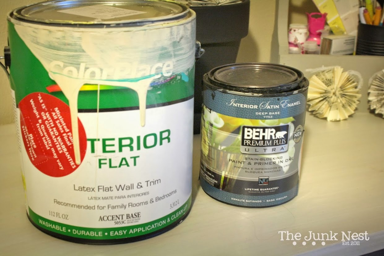 The Type of Paint To Use on Furniture