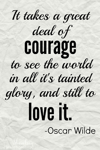 Value of the Month - Courage Quotes