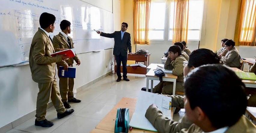 Escolares no recuperarán tiempo perdido en huelga, informó GRE Arequipa
