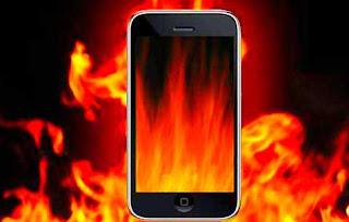 ponsel terlalu panas