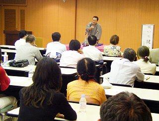 三遊亭楽春健康づくりセミナー「笑いと健康講演会、笑う門には健康来る!」
