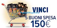 Logo Con Negroni e Fini vinci 160 buoni spesa da 150€