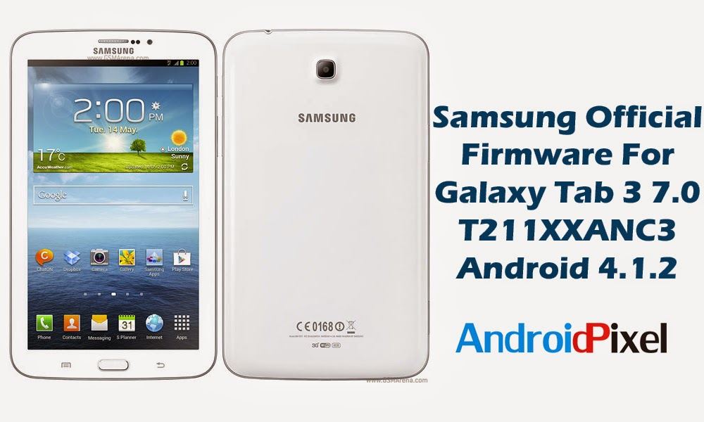 Official Firmware] Update Samsung Galaxy Tab 3 7 0 WiFi+3G
