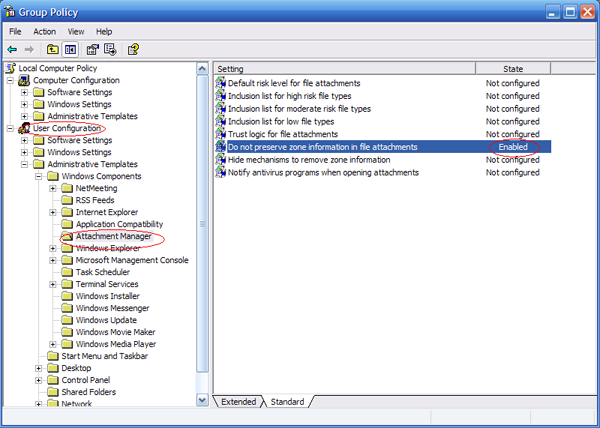 khắc phục lỗi security block khi tải file về máy tính 2