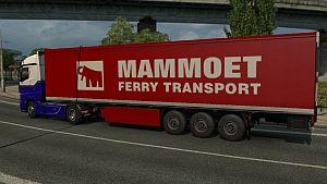 Mammoet trailer mod