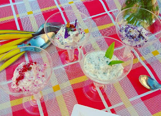 mousse ai fiori officinali