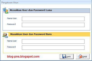 Tutorial Cara Membuat Form Ganti Password