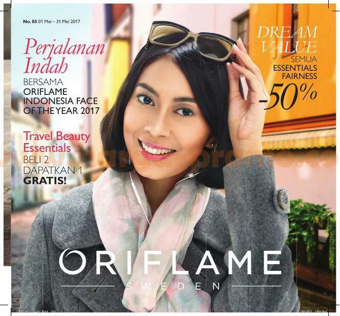 Katalog Oriflame Mei 2017 Promo Terbaru