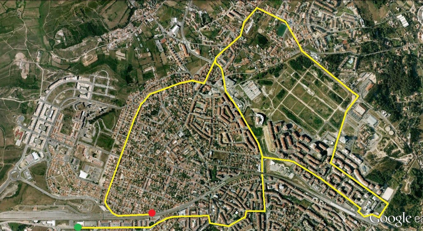 mapa cacem sintra Tudo sobre Sintra: Domingo haverá condicionamentos de trânsito em  mapa cacem sintra
