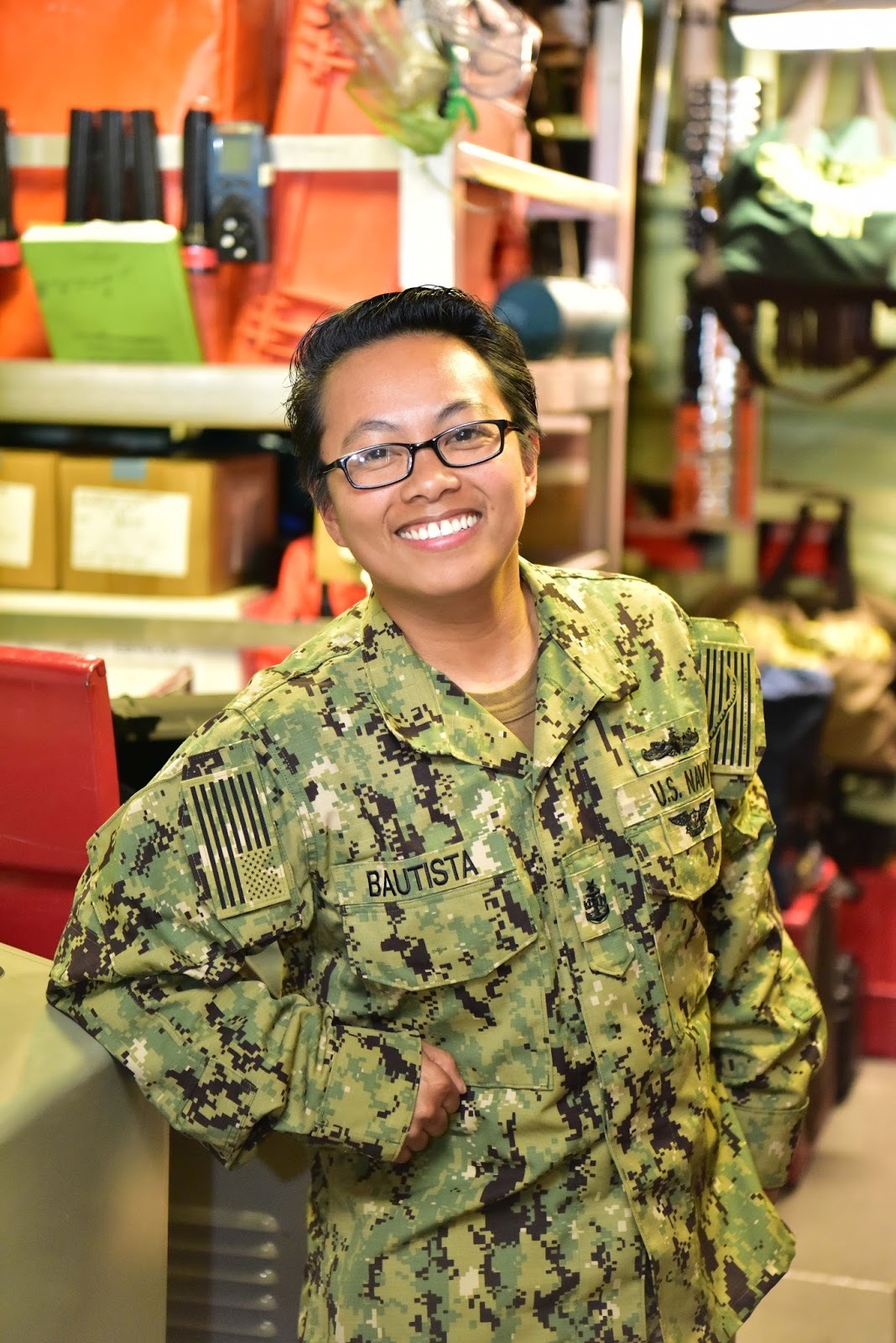 Long Beach California Native Serves Aboard One Of The Navys Most