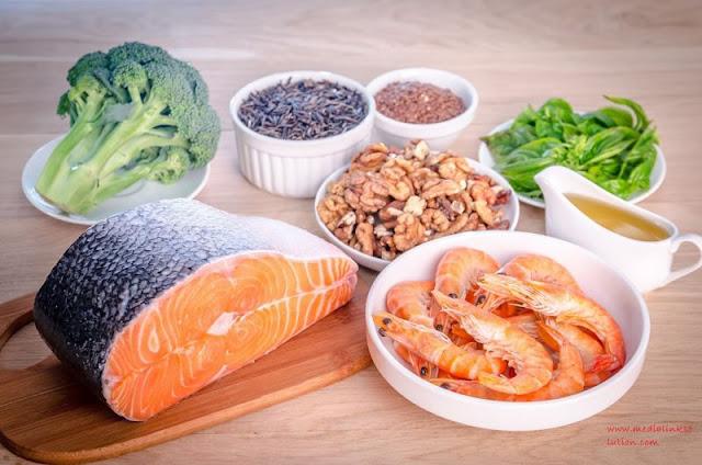 Gambar Omega 3 ikan - Manfaat Ikan Untuk Kesehatantan