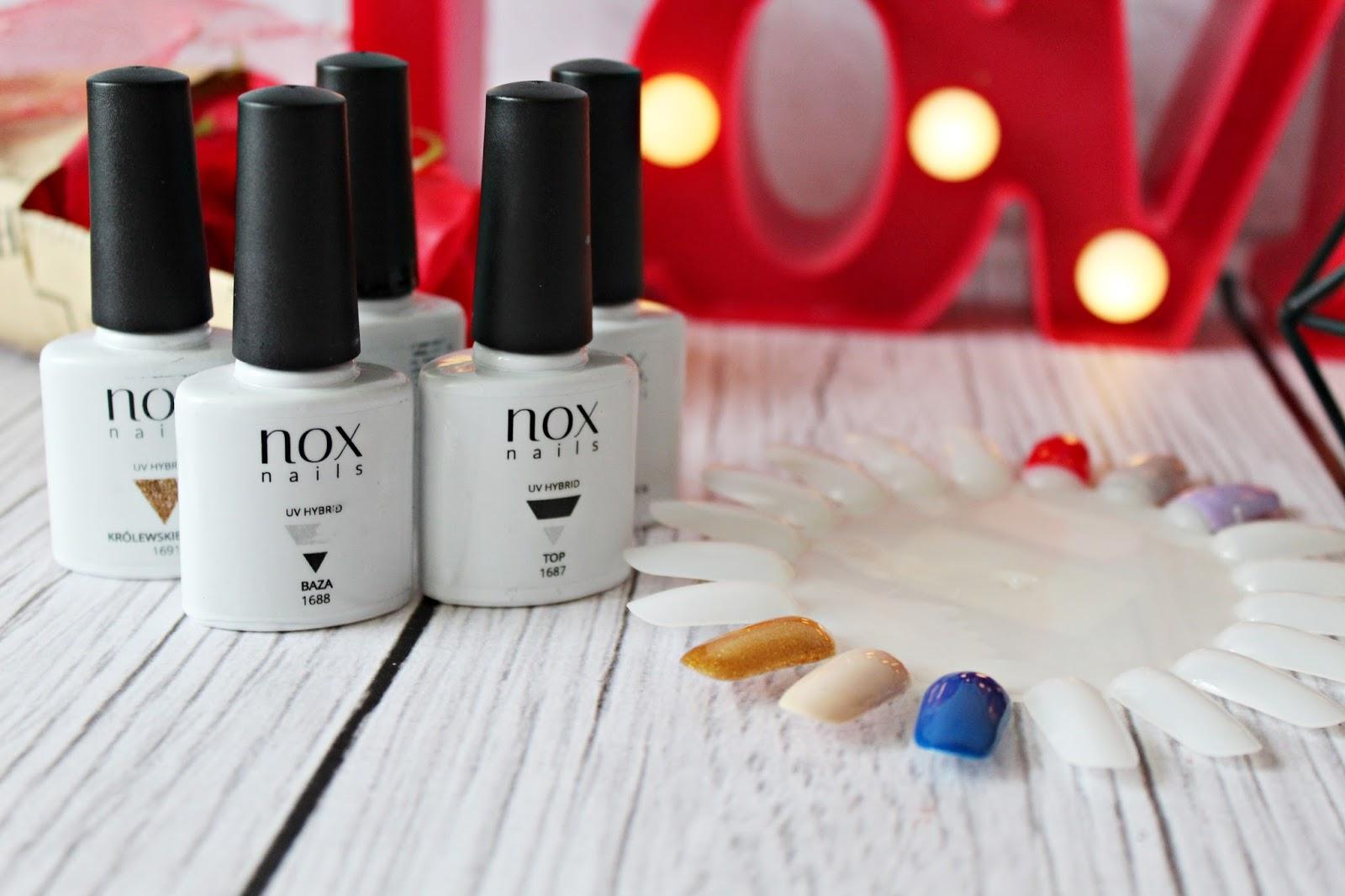 NOX Nails - HIPOALERGICZNE lakiery hybrydowe