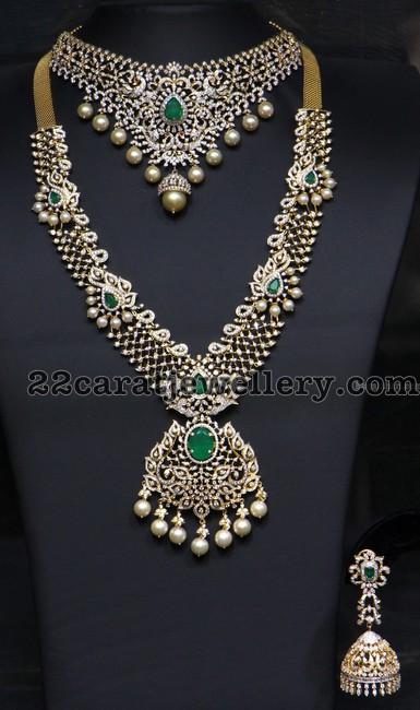 31ca1822a78b2 Latest Diamond Sets by Hiya Jewelry - Jewellery Designs