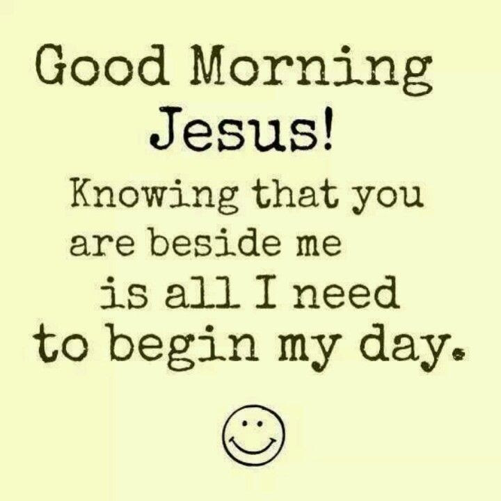 Good Morning In French And Italian : Immanuel good morning jesus