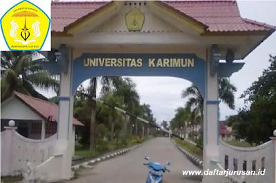 Daftar Fakultas dan Program Studi UK Universitas Karimun Kepulauan Riau