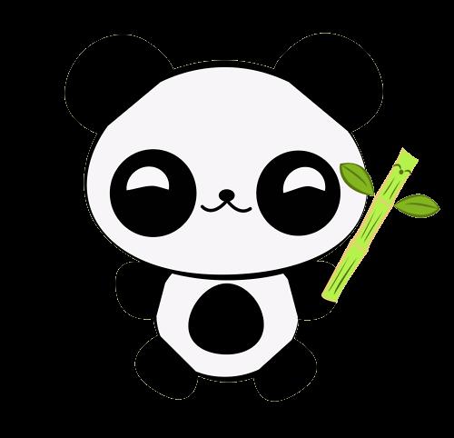 Aldii0219Tutos: Pandas Kawaii PNG
