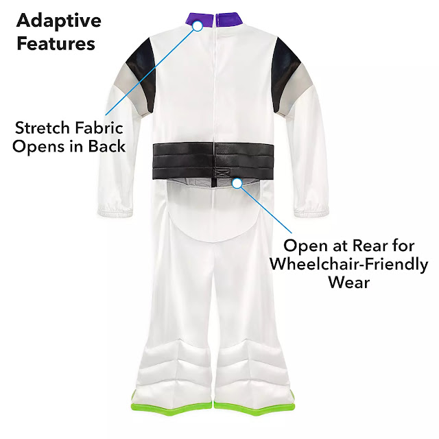 Disney Pixar Buzz Lightyear Adaptive Costume
