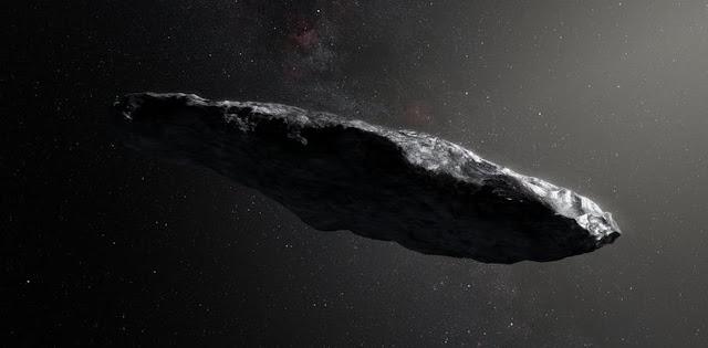 Alien object 'Oumuama was an interstellar lump of ice