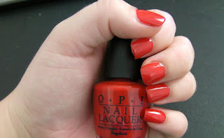 NOTD – OPI Big Apple Red