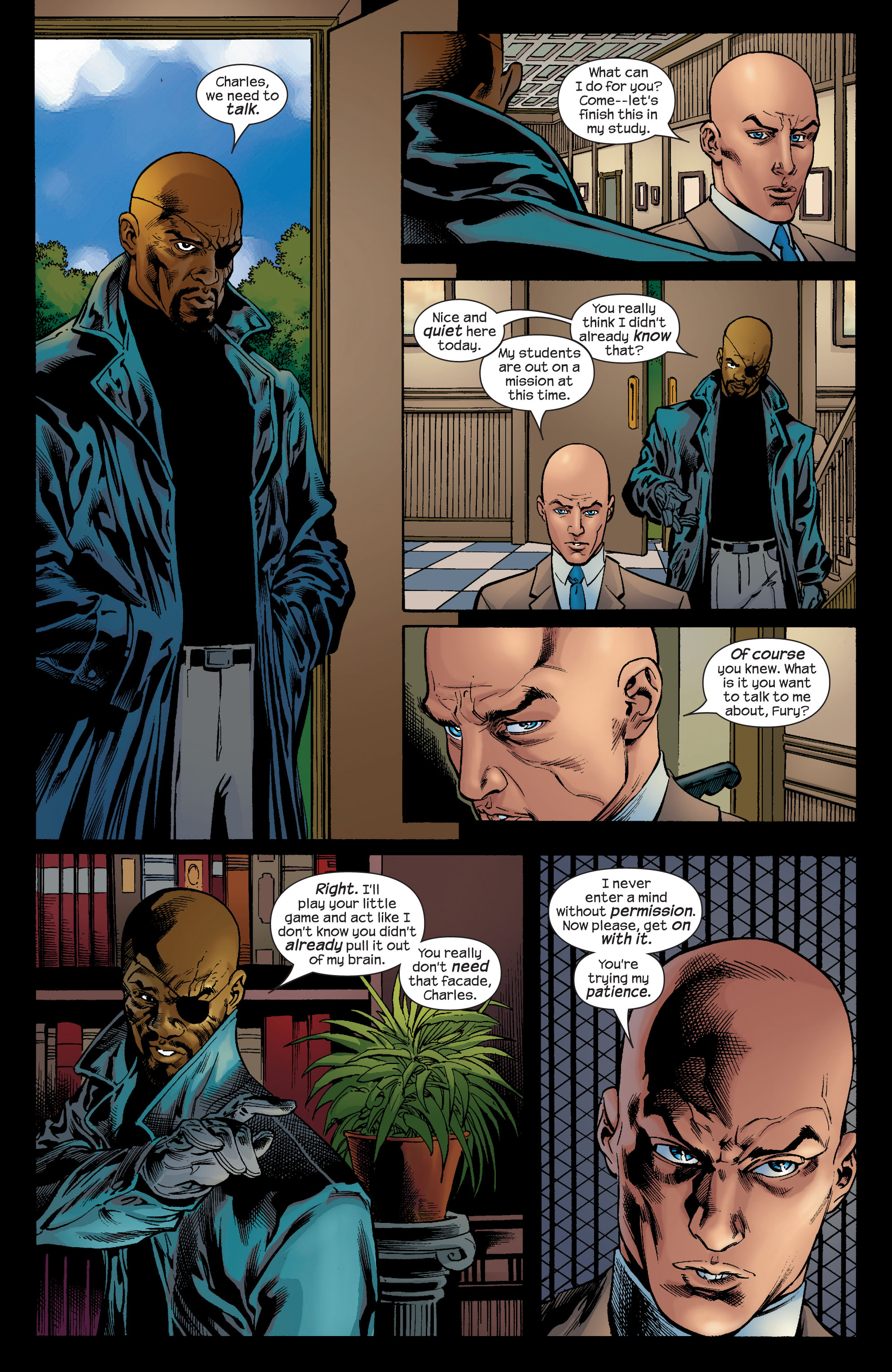 Read online Ultimate X-Men comic -  Issue #72 - 20