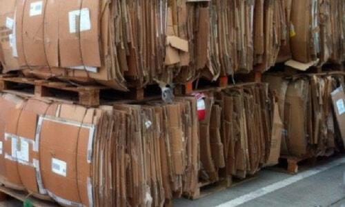 reciclado de cajas de carton