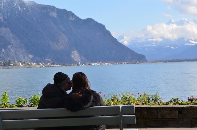 Chris e Pri em Montreux