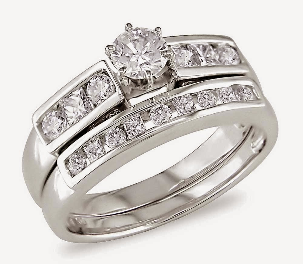 Matching Diamond Bridal Ring Sets Design