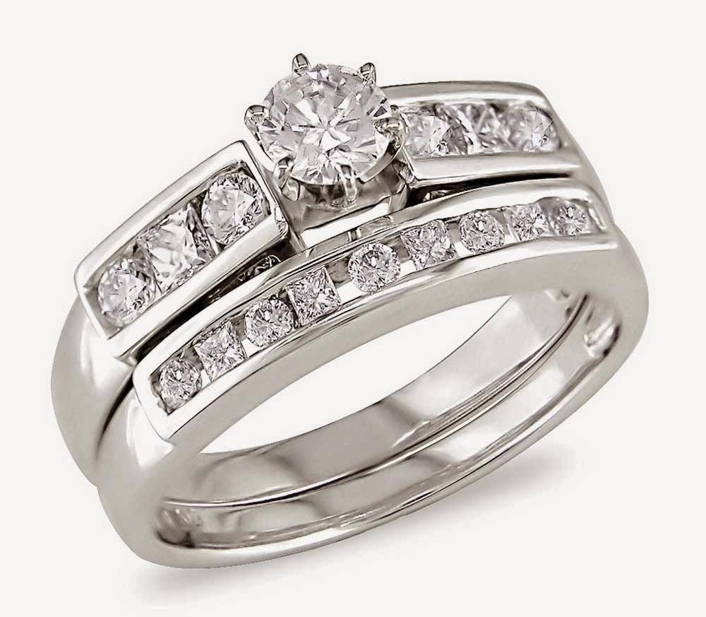 Matching Diamond Bridal Ring Sets Design