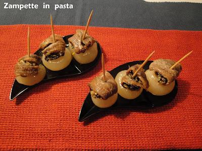 Cicchetti con acciughe - Ricetta finger food