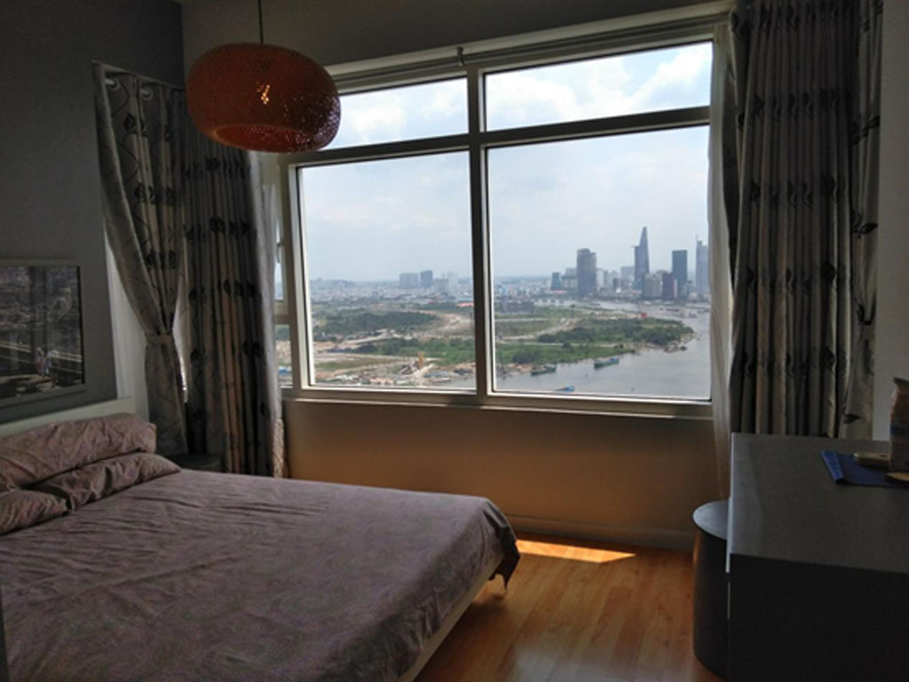 For rent Saigon Pearl apartment with area 84m2 price 950usd
