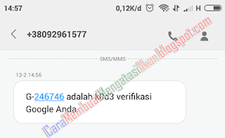 cara mengganti password akun google