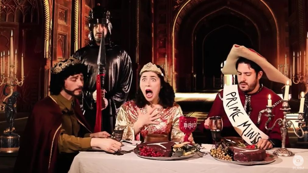 Jewish Humor Central A Very Modern And Drunk Retelling Of The