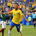 Brasil vence o México e está nas quartas de final da Copa do Mundo