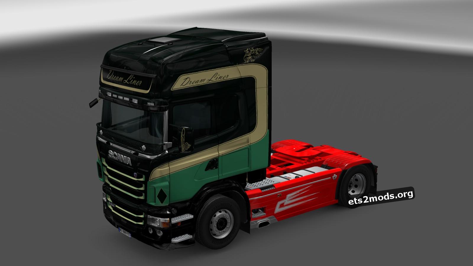 Dream Liner Skin for Scania RJL
